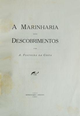 A MARINHARIA DOS DESCOBRIMENTOS.: FONTOURA DA COSTA.