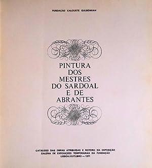 PINTURA DOS MESTRES DO SARDOAL E DE