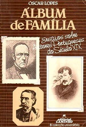 ALBUM DE FAMÍLIA.: LOPES (Óscar)