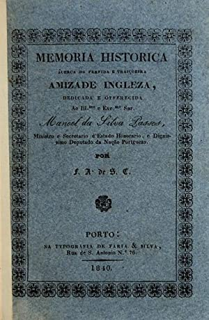 MEMÓRIA HISTORICA ÁCERCA DA PERFIDA E TRAIÇOEIRA: SANTA CLARA (Frei