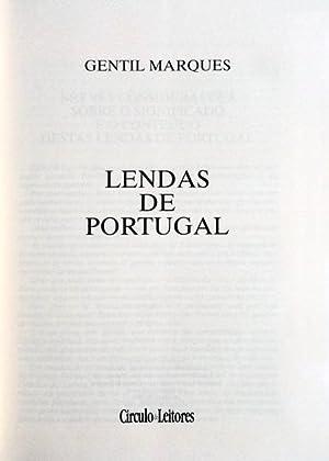 LENDAS DE PORTUGAL.: MARQUES (Gentil)