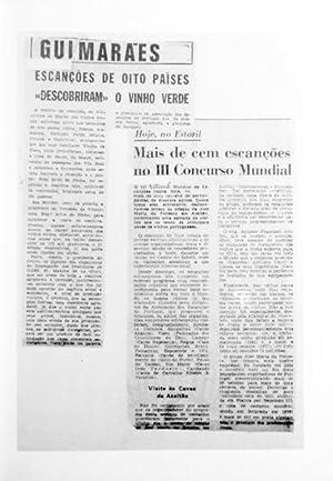 ESCANÇÕES DE PORTUGAL. 1972-1982.