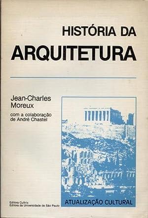 HISTÓRIA DA ARQUITETURA.: MOREUX. (Jean-Charles)