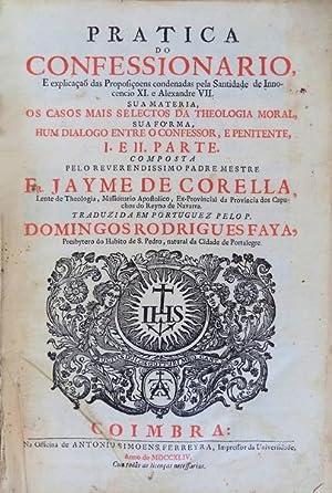 PRATICA DO CONFESSIONARIO.: CORELLA, Jaime.