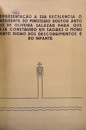 PROJECTO PARA O MONUMENTO DE SAGRES].: PARDAL MONTEIRO; José