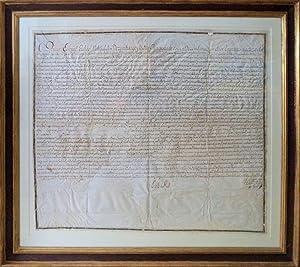 MANUSCRITO SÉC. XVIII - D. JOSÉ I