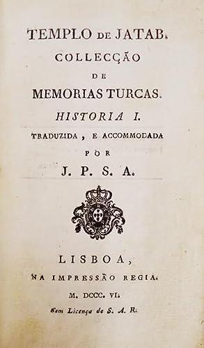 TEMPLO DE JATAB.: SOUSA AZEVEDO. (José Pedro de)