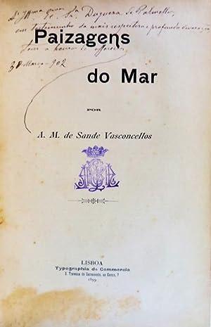 PAIZAGENS DO MAR.: SANDE VASCONCELLOS. (A.