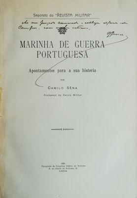 MARINHA DE GUERRA PORTUGUESA: SÊNA (Camilo)