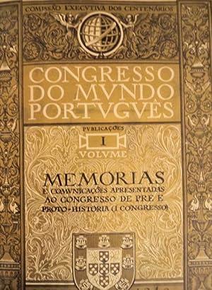CONGRESSO DO MUNDO PORTUGUÊS. Publicações.