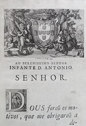 VIDA DO INFANTE D. LUIZ,: PORTUGAL, José Miguel João de. [Conde do Vimioso].