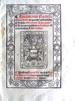 ENUNCIATIONES.: GARCESI, Jerónimo.