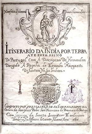 ITINERARIO DA INDIA PORTUGUESA ATE ESTE REINO: SÃO BERNARDINO, Fr.