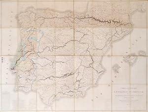 CARTOGRAFIA MILITAR - SÉC. XIX - CARTE-ITINÉRAIRE