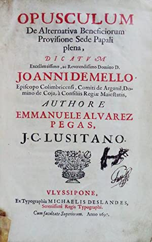 ENCADERNAÇÃO ARTISTICA – SÉC. XVII - PEGAS.: PEGAS, Manuel Álvares.