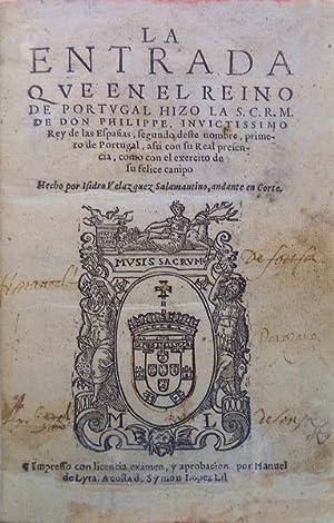 LA ENTRADA QVE EN REINO DE PORTUGAL: VELAZQUEZ. (Isidro)