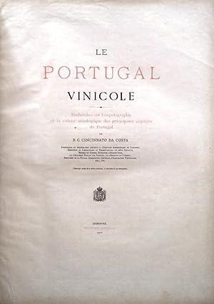 O PORTUGAL VINICOLA. LE PORTUGAL VINICOLE.: CINCINNATO DA COSTA.