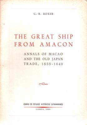 THE GREAT SHIP FROM AMACON.: BOXER. (Charles Ralph)