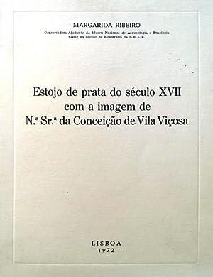 ESTOJO DE PRATA DO SÉCULO XVII COM: RIBEIRO. (Margarida)