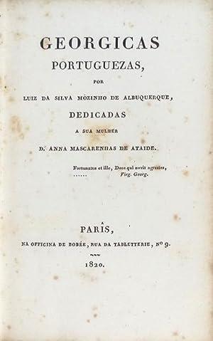 GEORGICAS PORTUGUEZAS.: MOUZINHO DE ALBUQUERQUE.
