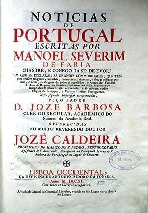 NOTICIAS DE PORTUGAL: SEVERIM DE FARIA.