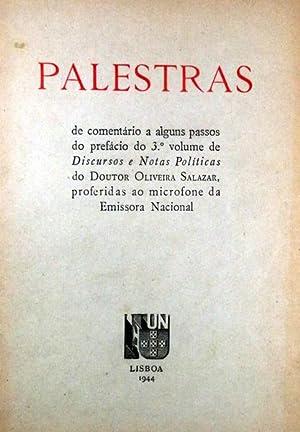 PALESTRAS DE COMENTÁRIO A ALGUNS PASSOS DO