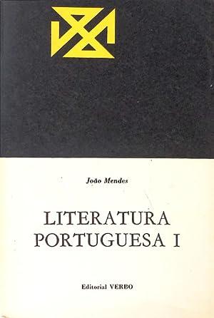 LITERATURA PORTUGUESA.: MENDES. (João)