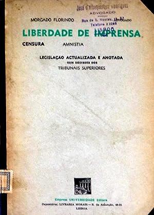 LIBERDADE DE IMPRENSA.: MORGADO FLORINDO.