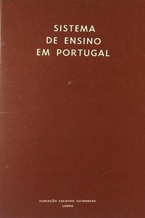 SISTEMA DE ENSINO EM PORTUGAL.: SILVA. (Manuela) e