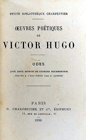 ODES.: HUGO. (Victor)