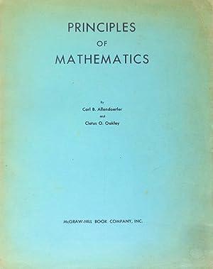 PRINCIPLES OF MATHEMATICS.: ALLENDOERFER (Carl B.)