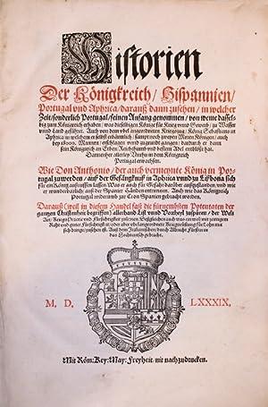 Historien der Königkreich, Hispannien, Portugal und Aphrica,: Conestaggio. (Girolamo Franchi