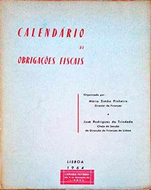 CALENDÁRIO DE OBRIGAÇÕES FISCAIS.: SIMÃO PINHEIRO. (Mário)