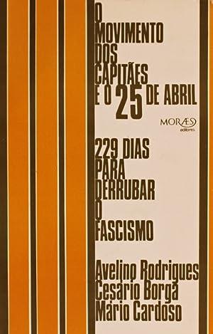 O MOVIMENTO DOS CAPITÃES E O 25: RODRIGUES. (Avelino), Cesário