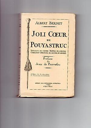 JOLI COEUR DE POUYASTRUC Tailleur De pierre,: BERNET Albert