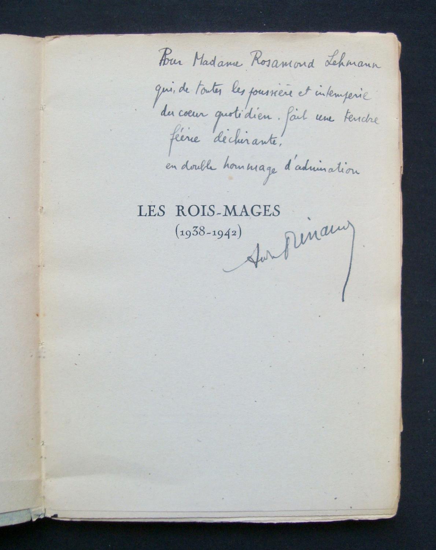 Les Rois Mages Poèmes 1938 1942