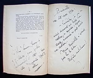 J.- J. Weiss, sa vie, ses écrits -: DURANDEAU ( Joachim) - WEISS (Jean- Jacques) -