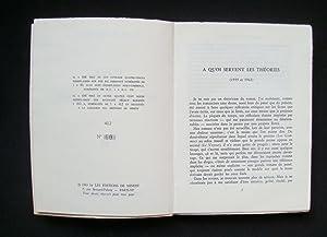 pour un nouveau roman -: ROBBE-GRILLET (Alain) -