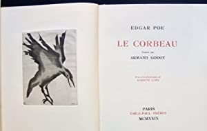 Le Corbeau -: POE (Edgar) - GODOY (Armand) -