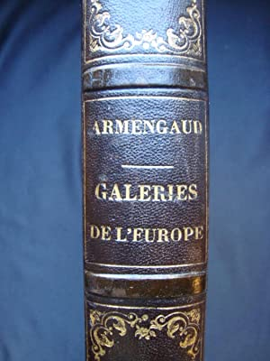 Les galeries publiques de l'Europe - Italie : Rome -: ARMENGAUD (J.G.D.) -