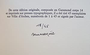 Vers Henri Michaux -: NOEL (Bernard) - (Henri Michaux) -