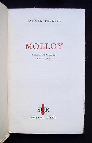 Molloy -: BECKETT (Samuel) -