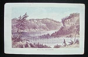 Whirlpool near Niagara -: NIAGARA) - LITHOGRAPH