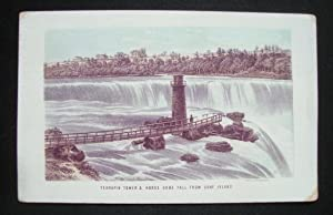 Terrapin tower & Horse shoe fall from: NIAGARA) - LITHOGRAPH