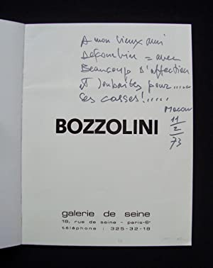 Bozzolini -: BOZZOLINI (Silvano) -