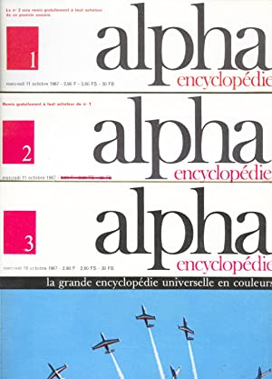 Alpha Encyclopédie : La Grande Encyclopédie Universelle en couleurs (17 volumes, 7000 pages)