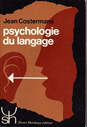 Psychologie du langage: Costermans jean