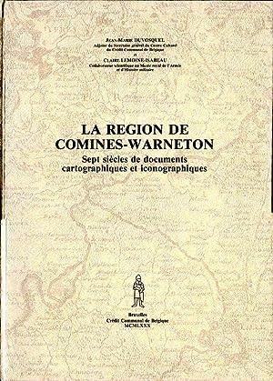 La région de Comines-Warneton. Sept siècles de: Duvosquel Jean-Marie et