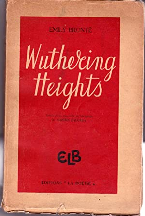emily bronte used atmospheric conditions in wuthering heights Emily bronte: poetry & books emily genre of wuthering heights related study materials students in online learning conditions performed better than those.