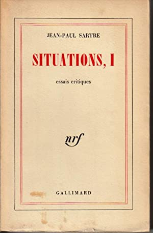 Situations, III: Sartre Jean-Paul